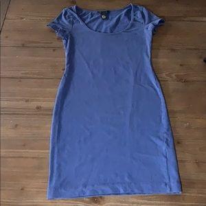 H&M Navy blue T-shirt dress Xs
